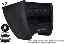 RED STCH CONSOLE SIDE TRIM LEATHER COVER FITS PORSCHE 986 BOXSTER CARRERA 996