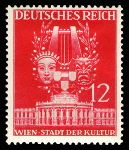 EBS Germany 1941 Vienna Spring Fair - Music and Drama - Michel 770 MNG (*)