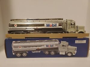 Mobil Toy Tanker Truck 1999 Credit Card Edition Coinbank Taylor Trucks.