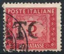 Italy 1947-54 SG#D692, 3L Carmine Postage Due Used #D78506