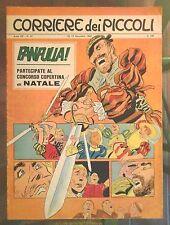 Corriere dei Piccoli N. 47 1967 hugo pratt fanfulla lucky luke morris umpa-pah