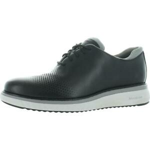 Cole Haan Zerogrand Eon Leather Perforated Wingtip Oxfords