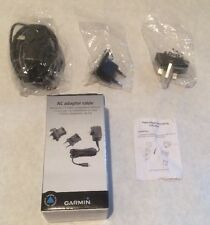 Garmin AC Adapter with International Adapter Plugs Used Once