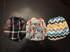 New Listing3 Rumparooz Newborn Cloth Cover Diaper Quinn Plaid Chevron Charlie Clyde Fox Boy