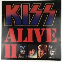 Vintage Vinyl LP Kiss Alive II NBLP 7076-1 Double Album Casablanca 1977