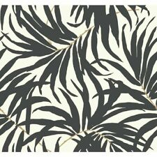 York Wallcoverings AT7056 Tropics Bali Leaves Wallpaper