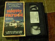 Night Patrol + Brenda Starr + Reno and The Doc (VHS x 3) '80s Cinema Film LOT