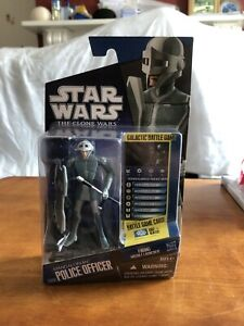 Star Wars The Clone Wars Action Figure Mandalorian Police Officer (CW09)