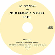 Audio Freqency Amplifier Design by GEC Valve and Electronics (1957) Book on CD
