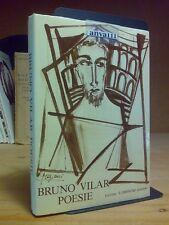 Bruno Vilar - POESIE - 1977 - 1°ed. - dedica autografa di Paola Borboni