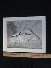 Ink Drawing - Robert (Bob) Stokes - Incl. Shipping! Unframed (1 of 2)