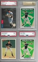 1993 SP Derek Jeter GRADED PSA & BGS Rookie Card RC LOT!! ALL GRADED PSA -...