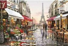 Educational 1000 Piece Jigsaw Puzzles Paris Flower Street Adults Kids Puzzle Toy