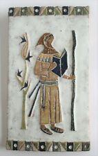 Plaque céramique emaillée LES ARGONAUTES - Vallauris - RARE
