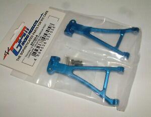 TRAXXAS MINI E-REVO 1/16TH GPM FRONT LOWER ARM BLUE ALUMINUM ERV055-B