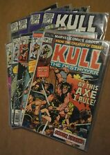 Marvel Comics Kull The Destroyer 11,17,20,26,27 The Conqueror 1,3 ~ Lot of 9