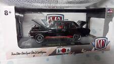 2018 M2 Machines 1/24 Scale Auto Japan 1970 Datsun 510 1/5880 Black New HTF