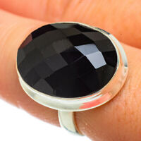 Black Onyx 925 Sterling Silver Ring Size 8.5 Ana Co Jewelry R41604F