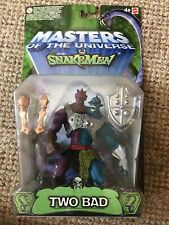 2003 MODERN SERIES MOTU HE-MAN MASTERS OF THE UNIVERSE VS SNAKEMEN Two Bad
