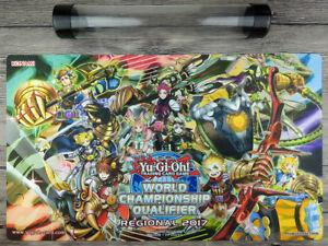 YuGiOh Zoodiac 2017 WCQ Duel battlefiel Custom Playmat TCG Mat Free Best Tube