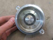 1949 Buick Super interior dash panel fuel gauge insert hot rod rat rod parts