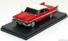1:43 Ertl/Auto World Plymouth Fury Stephen King, Christine 1958
