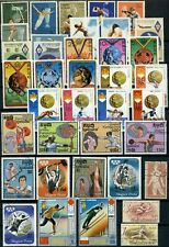 Sports, Olympics Thematics Page Full Of Stamps #W1038