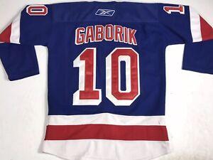 Marian Gaborik Authentic NHL Reebok CCM Hockey Jersey Size 50