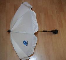 ESPRIT Sonnenschirm Parasol Beige/Creme für Kinderwagen und Buggy by HAUCK (213)