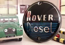 Diesel 2 Ltr Litre Engine Grill/Grille Panel Repro Badge Land Rover Series 1 2