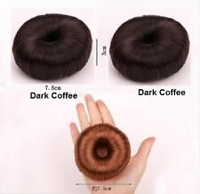 Girls  Elastic Hair Styling Donut Foam Magic Hairstyle Tool Bun Maker UK Stylish