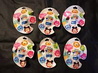 LOT X 6 Tsum Tsum Rare Disney Limited Edition Color Pop Figure Mystery Packs