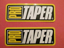 2 Pro Taper Racing Decals Stickers Chainwheels Chain Sprocket Handlebars Grips