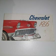 Vintage Original 1956 Chevrolet Bel Air 150 Sales Brochure