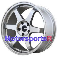 Miro 398 19 x 8.5 +35 Silver Rims Concave Wheels 5x114.3 08 14 15 16 Scion xB tC