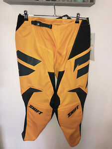 pantalon motocross jaune SHIFT WHIT3 taille 34 us (L) valeur 140€ NEUF