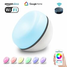 Smart Table Night Lamp, WiFi Desktop Night Light, Color Changing LED Night Light