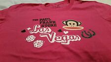 "GENUINE PAUL FRANK 'LAS VEGAS"" DESIGNER T'SHIRT SIZE MEDIUM"