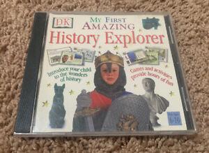 DK My First Amazing History Explorer (PC/Apple Mac, 1998) Windows CPU Ages 6-10
