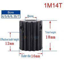 0.5M27T 2//3//4//5//6mm Bore Hole 27T Width 5 Module 0.5 Motor  Metal Spur Gear