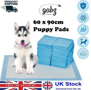 GABZ Super Absorbant Multi Layer 60 x 90cm Puppy Pet Pee Toilet Training Pads