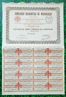 Madagascar - Maevatana Rivière l'Ikopa & Paris- Secteur Minier (Mines d'Or) 1933