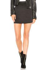 Free People Womens High Waist OB782810 Skirt Skinny Black Size XS