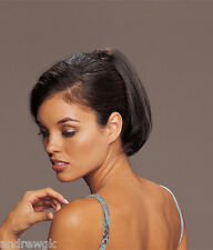 "Short 8"" Straight Clip In - Synthetic Hair Piece - Tease Groovi - TressAllure"