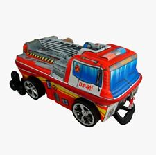 KIDS 3D TRAVEL LUGGAGE, SCHOOL, CARRY ON BAG Fire Truck bags