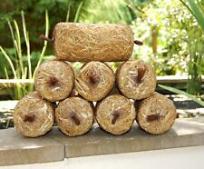 More details for 4 or 8 pack of barley straw logs - natural green water algae treatment
