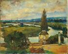 Tableau vue de Chemilly Haute Saône 1932