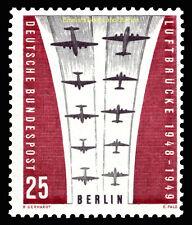 EBS West Berlin 1959 10th Anniversary Berlin Blockade Michel 188 MNH**