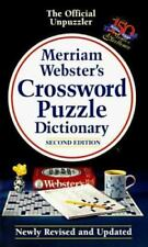 Merriam-Webster's Crossword Puzzle Dictionary, Merriam-Webster, 0877799199, Book