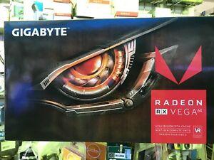 GIGABYTE AMD Radeon RX Vega 64 8GB REV1.0 PCI-E3.0x16/8192MB HBM2 DP*3/HDMI